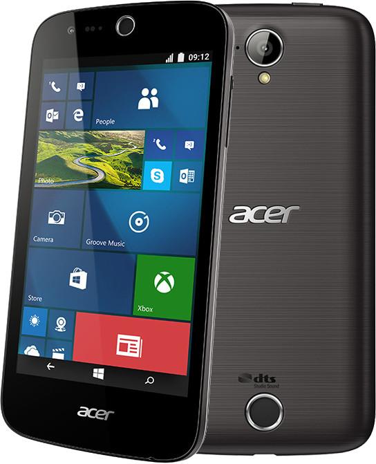 Acer M330 Dual Sim - 8GB, černá