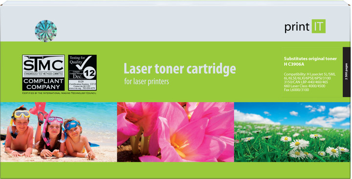 PRINT IT alternativní HP C3906A LJ 5L/6L toner