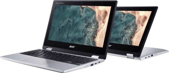Acer Chromebook Spin 11 (CP311-2HN-C1XT), stříbrná