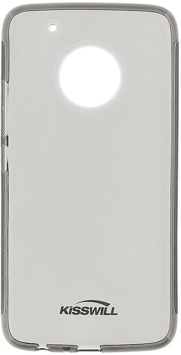 Kisswill TPU pouzdro pro Lenovo Moto G5 Plus, černá