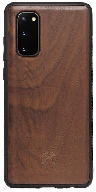 Woodcessories ochranný kryt TPU Bumper pro Samsung Galaxy S20, Walnut/ořech