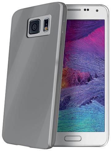CELLY Ultrathin pouzdro pro Samsung Galaxy S6, šedá