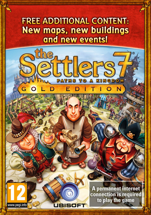 The Settlers 7: Paths to a Kingdom - Gold Edition (PC) - elektronicky