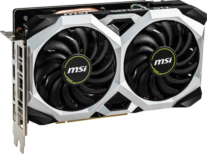 MSI GeForce GTX 1660 VENTUS XS 6G OC, 6GB GDDR5