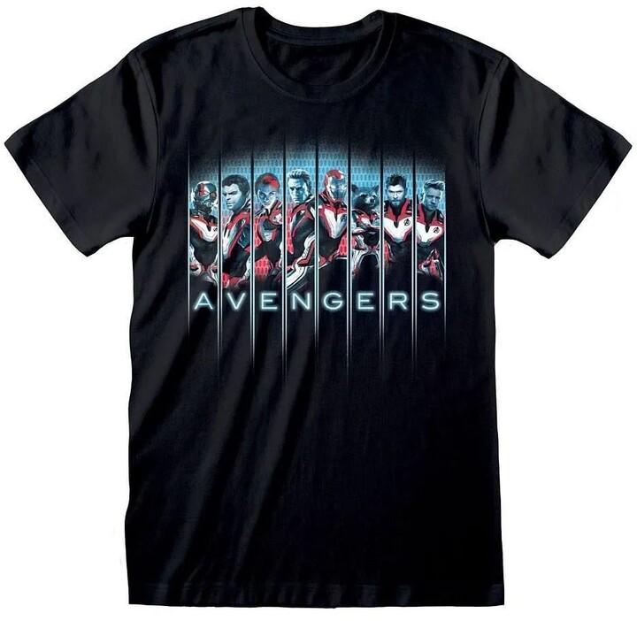 Tričko Avengers Endgame - Lineup (S)
