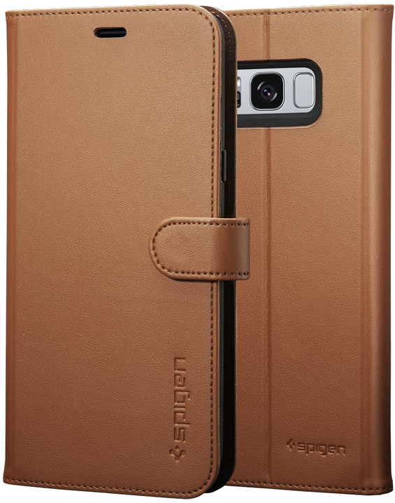 Spigen Wallet S pro Samsung Galaxy S8, brown