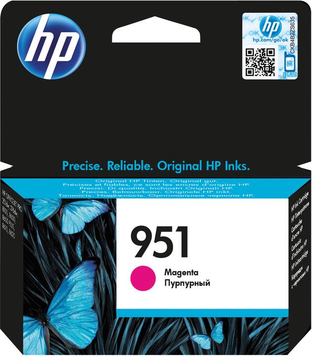HP CN051AE, magenta, č. 951