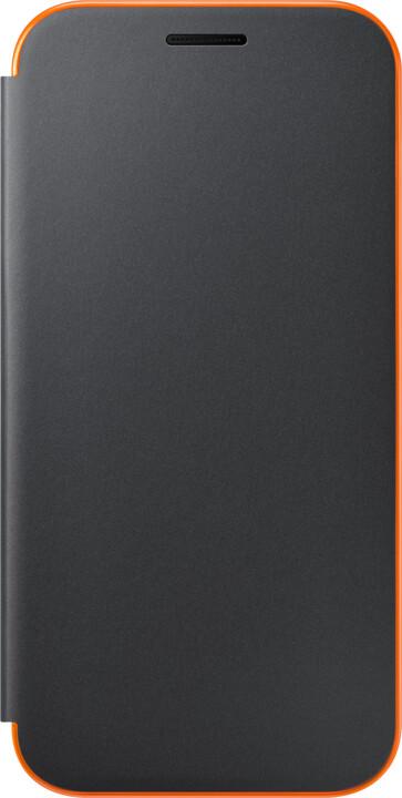Samsung Galaxy A3 2017 (SM-A320P), flipové pouzdro, černé