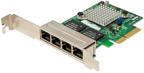 SuperMicro AOC-SGP-i4 síťová karta, 4×GbE