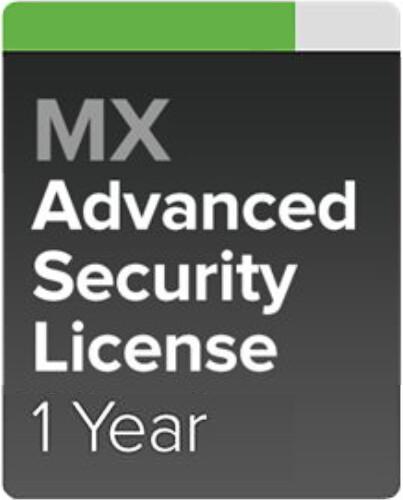 Cisco Meraki MX84-SEC Pokročilá ochrana a Podpora, 1 rok