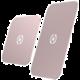 CELLY GHOSTPLATE Plíšky kompatibilní s magnetickými držáky pro mobilní telefony, růžovozlatý