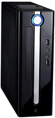 Eurocase ITX WI-10-EVO, černá