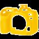 Easy Cover Pouzdro Reflex Silic Nikon D7500 Yellow