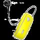 CELLY SNAIL, Bluetooth headset s klipem a navijákem kabelu, žlutá  + Voucher až na 3 měsíce HBO GO jako dárek (max 1 ks na objednávku)