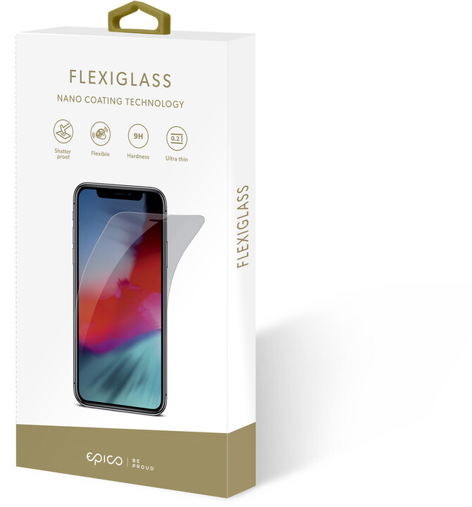 EPICO tvrzené sklo FLEXIGLASS Samsung Galaxy Note 10