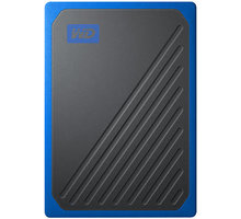 WD My Passport GO - 500GB, modrá - WDBMCG5000ABT-WESN