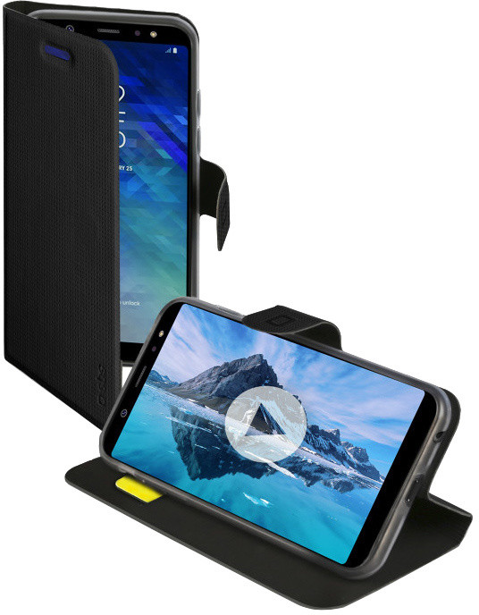 SBS Book Sense pouzdro pro Samsung Galaxy A6, černá