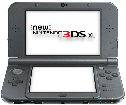 8281a8801 Nintendo New 3DS XL, černá NI3H971110 | CZC.cz