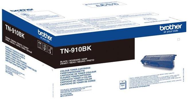 Brother TN-910BK, černá