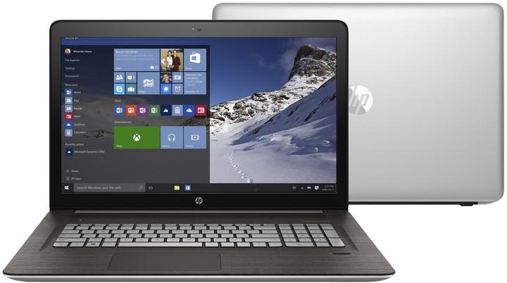 HP Envy 17 (17-r103nc), stříbrná