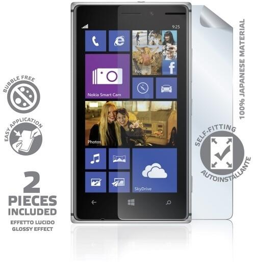 CELLY ochranná fólie displeje pro Lumia 925, lesklá, 2ks