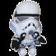 Plyšák Star Wars - Stormtrooper, mluvící, 22 cm