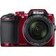 Nikon Coolpix B500, červená