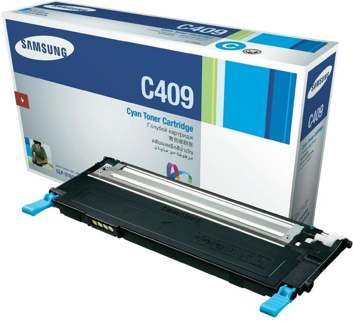 Samsung CLT-C4092S/ELS, azurový