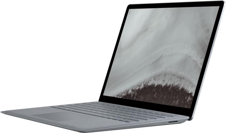 Microsoft Surface Laptop 2, platinová
