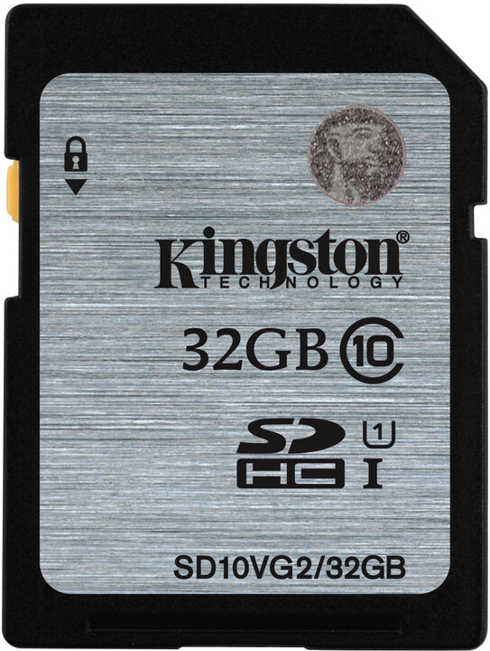 Kingston SDHC 32GB Class 10 UHS-I
