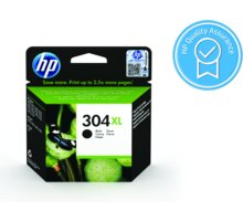 HP N9K08AE, černá, č. 304XL