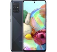 Samsung Galaxy A71, 6GB/128GB Black Kuki TV na 2 měsíce zdarma