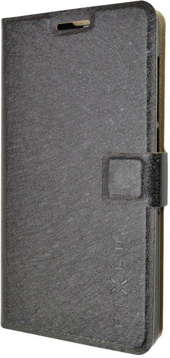 FIXED flipové pouzdro pro Lenovo A536, černá