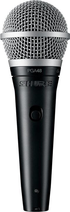 Shure PGA48-XLR, černá