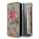 Guess 4G Flower Desire Book Pouzdro pro iPhone X, Brown
