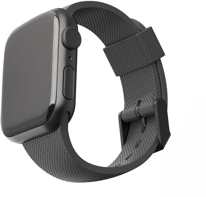 U by UAG silikonový řemínek pro Apple Watch, 42/44mm, černá