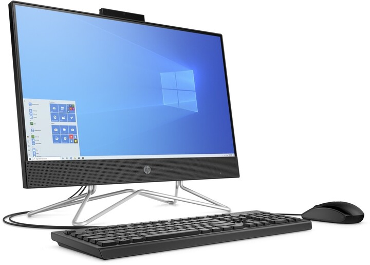 HP 22-df0004nc, černá