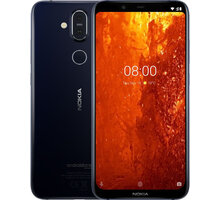 Nokia 8.1, 4GB/64GB, Dual SIM, modrá