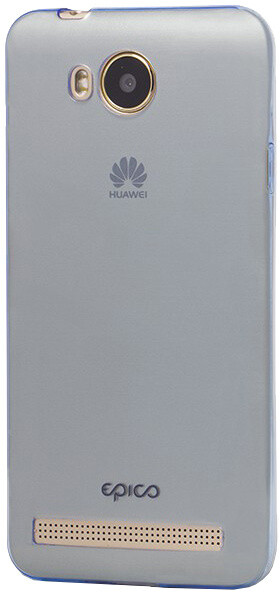 EPICO pružný plastový kryt pro Huawei Y3 II RONNY GLOSS - modrý