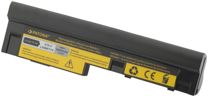 Patona baterie pro Lenovo, IdeaPad S10 4400mAh Li-Ion 11,1V černá