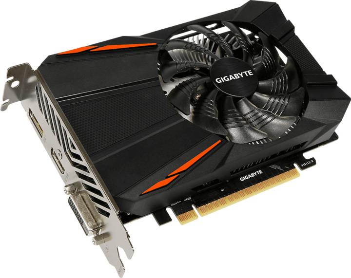 GIGABYTE GeForce GTX 1050 Ti D5 4G, 4GB GDDR5