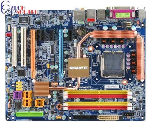 Gigabyte GA-965P-DS4 - Intel P965
