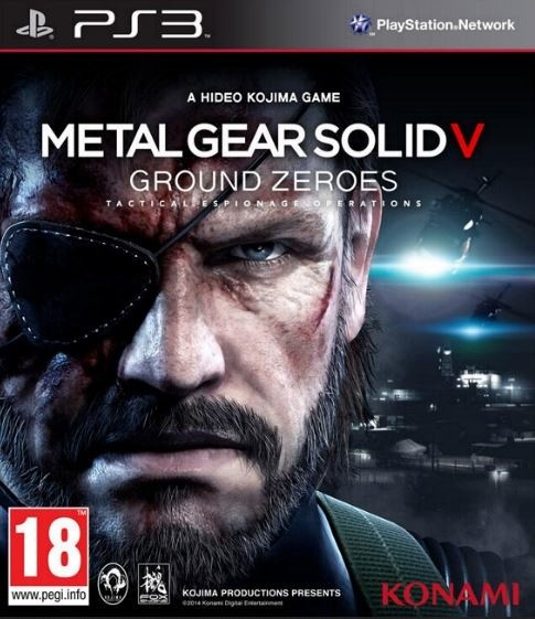 Metal Gear Solid: Ground Zeroes (PS3)