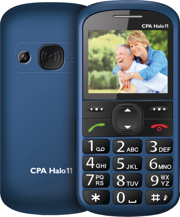 CPA HALO 11, modrá
