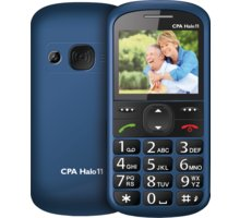 CPA HALO 11 s nabíjecím stojánkem, Blue - TELMY1011BL
