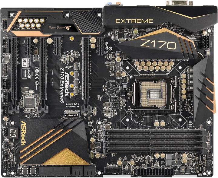 ASRock Z170 EXTREME6 - Intel Z170