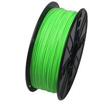 Gembird tisková struna (filament), PLA, 1,75mm, 1kg, fluorescentní zelená