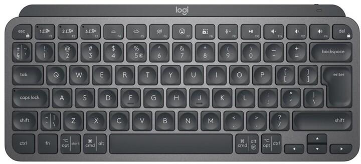 Logitech MX Keys Mini, CZ, grafitová