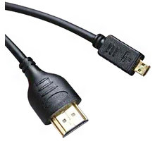PremiumCord HDMI A - HDMI micro D 5m