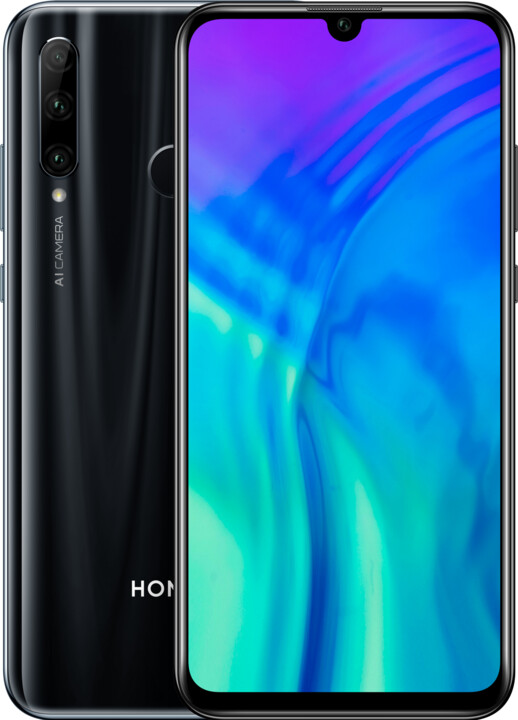 Honor 20e, 4GB/64GB, Midnight Black